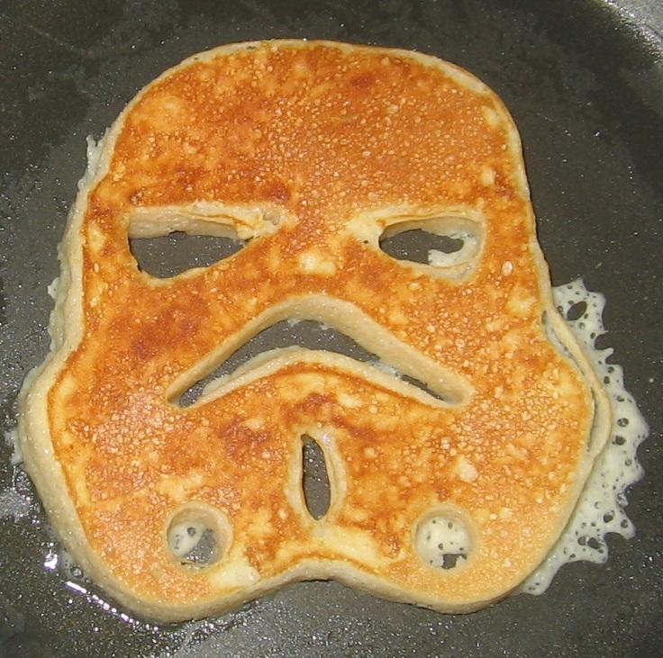 star wars pancake molds instructions